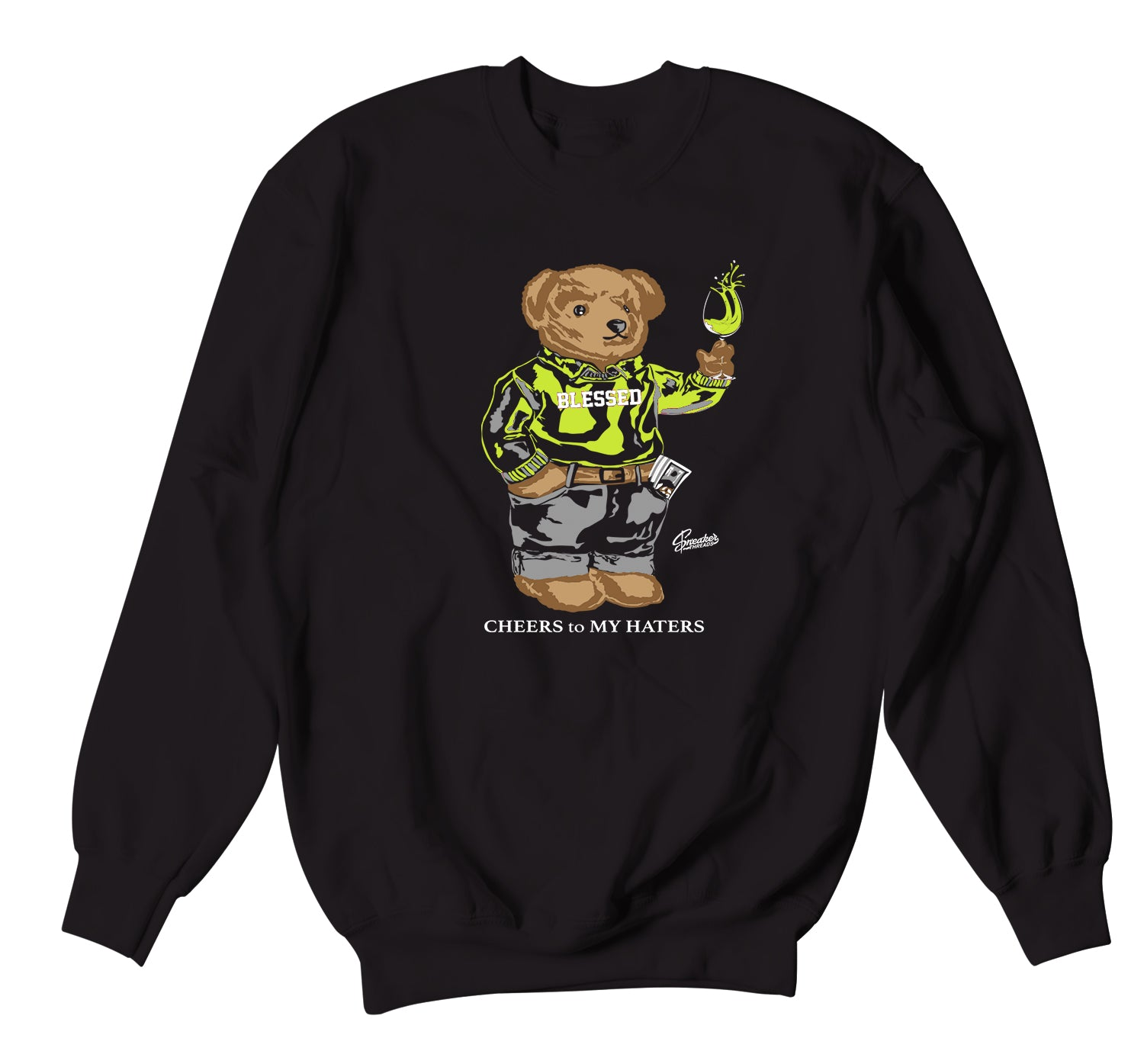 Foamposite Pro Volt Sweater - Cheers Bear - Black