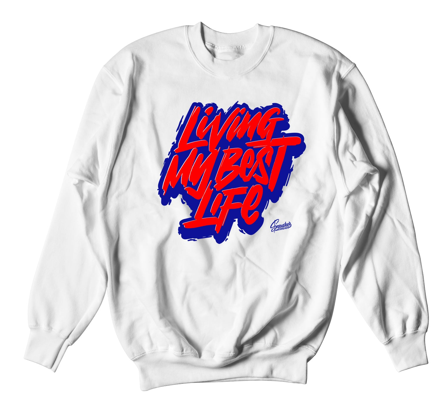 All Star 2020 Tune Squad Sweater  - Living Life - White