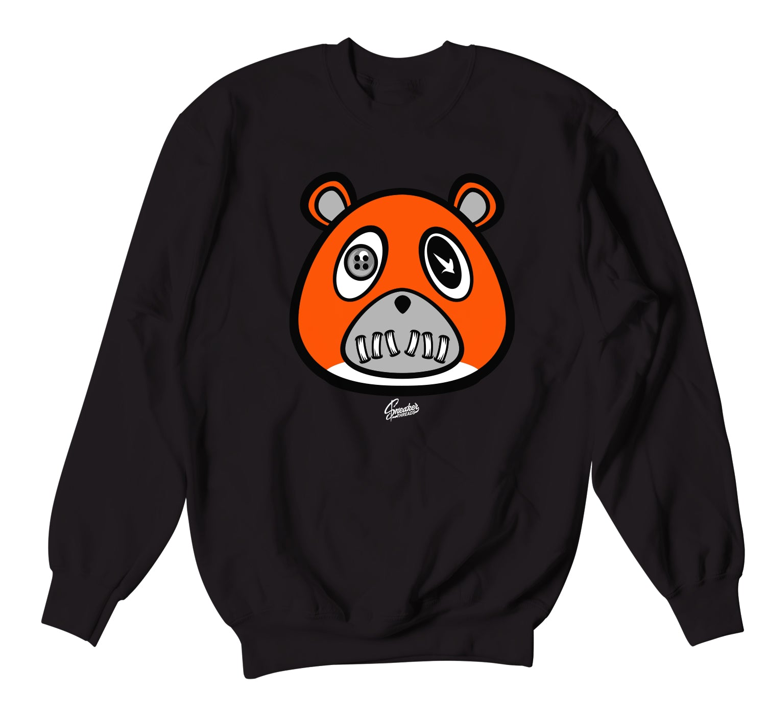 Jordan Starfish Sweater - ST Bear - Black