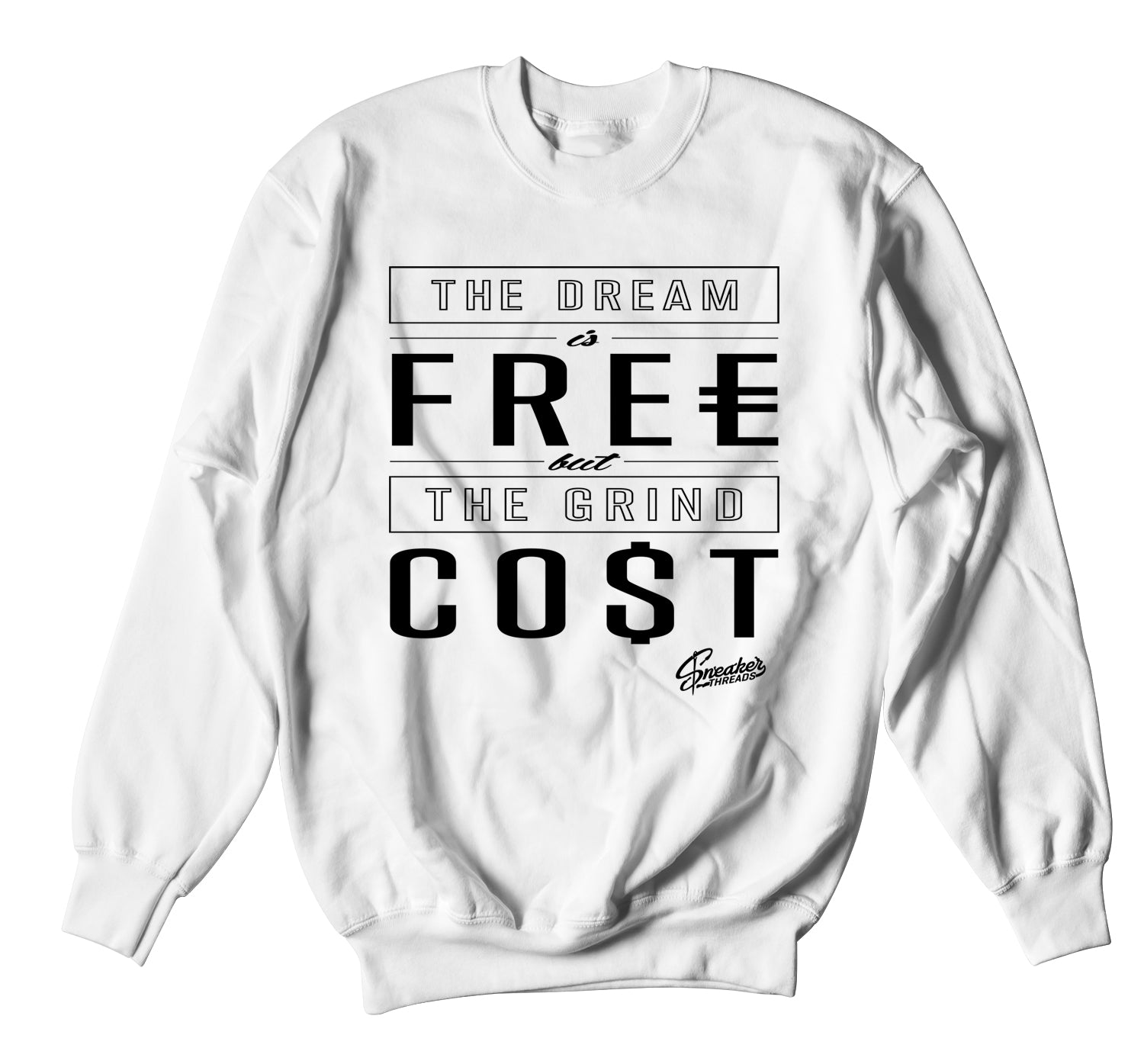 crewneck sweater collection for men made to match the foamposite sneaker collection