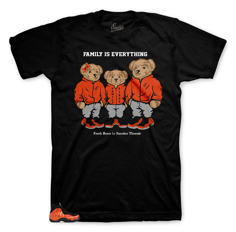 Polo bear family shirts | Family inspired shirt for foamsposite.