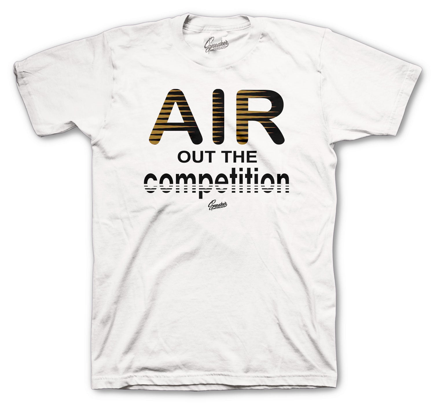 Air Max 90 Metallic Gold Shirt - Air Out - White
