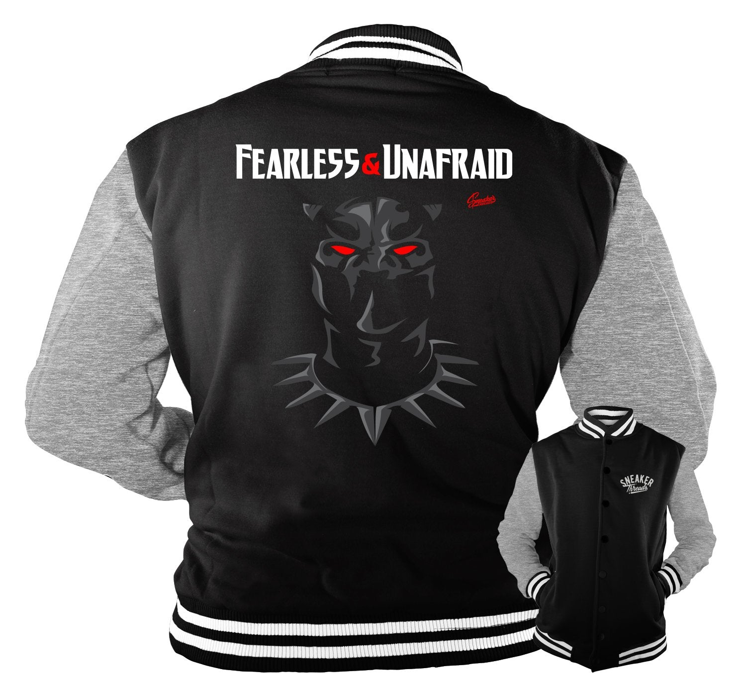 Sneaker Jordan 4 black cat matching jackets for men
