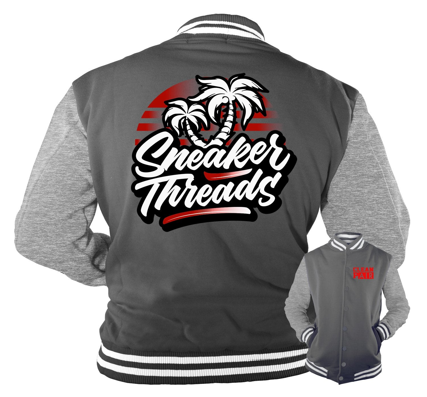 Jordan ST Palms Jacket to match Black QUILTED  14's