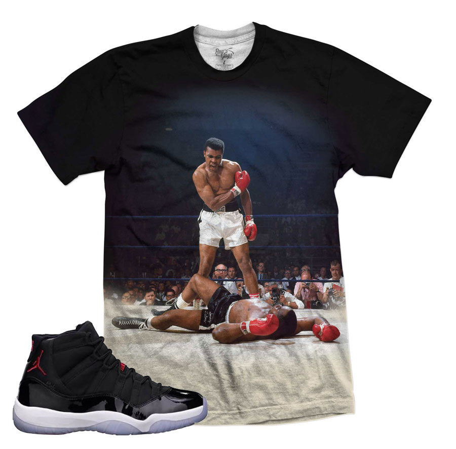 reputable site 96899 d6212 Tees to match Jordan 11 72-10 sneaker shirts. Record breaker tees. Shirt
