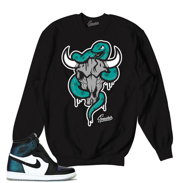 Jordan 1 All Star Sweater - Bull Snake - Black