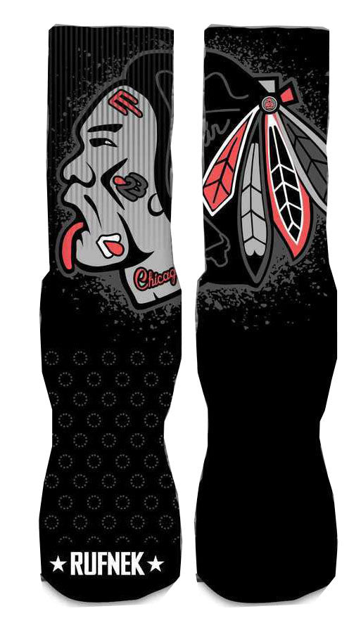 Jordan 13 Infrared Elite Socks - War Hawk