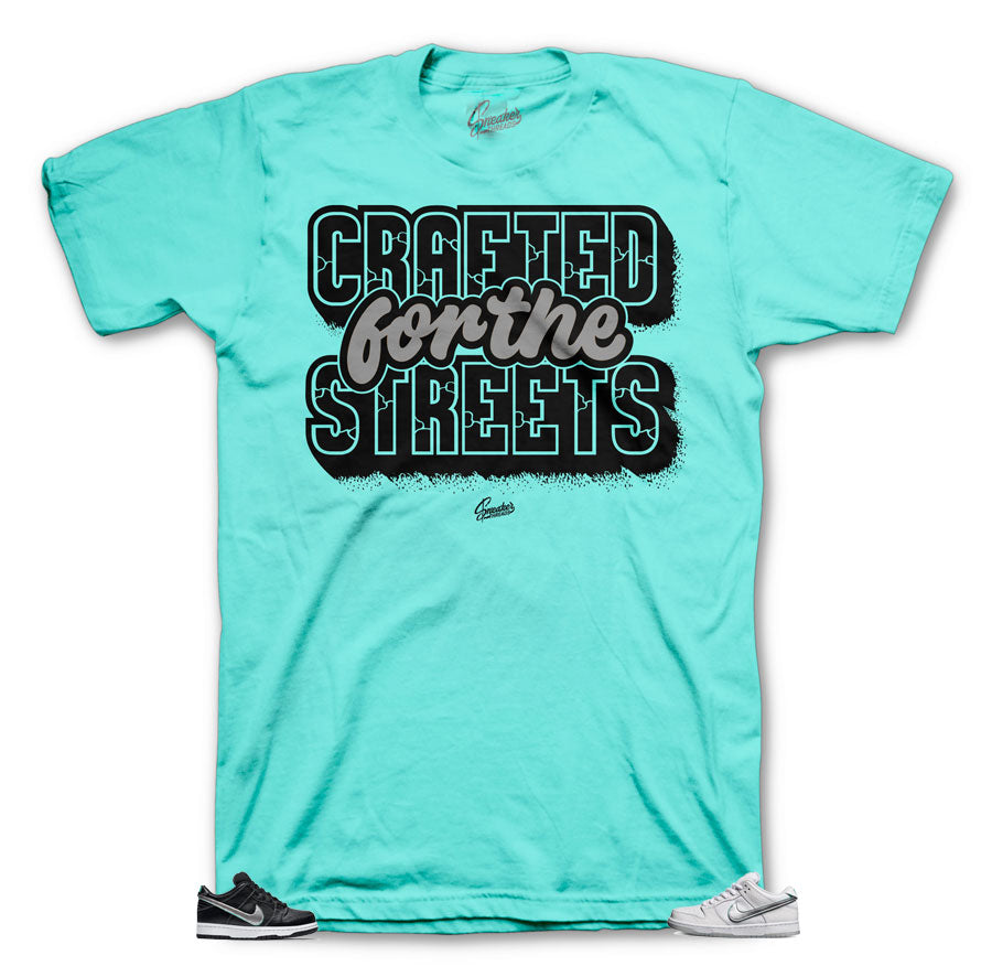Crafted shirt to match best with Minty Diamond Dunk SB