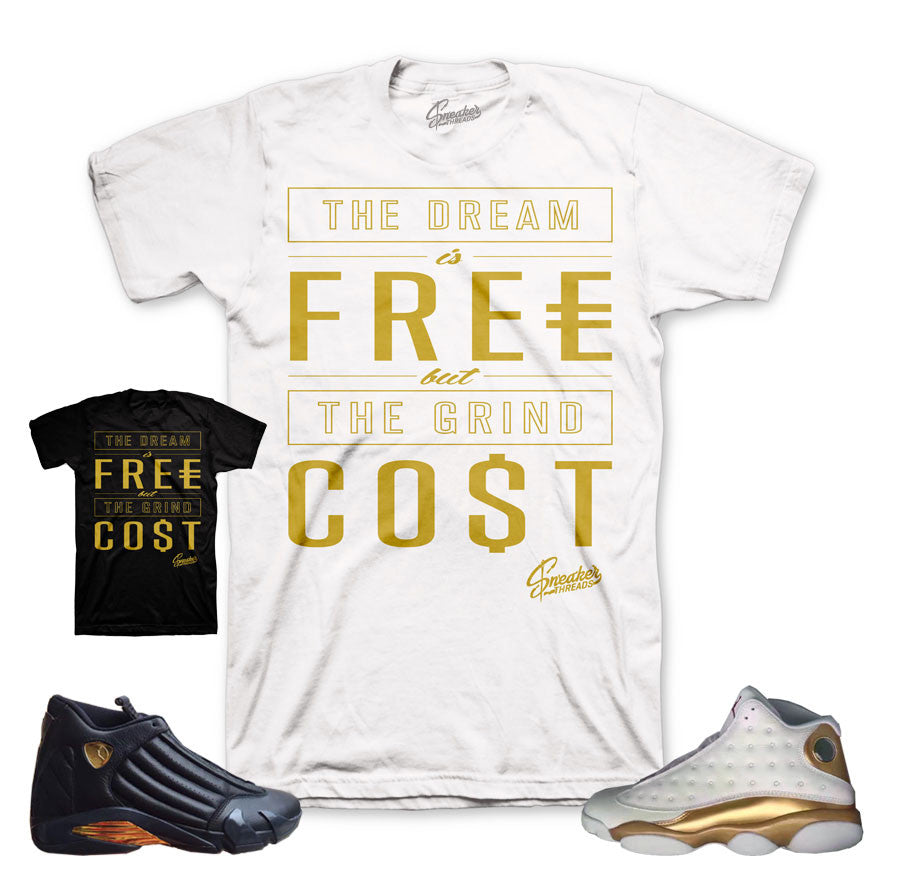 DMP retro 13 and 14 tees match sneakers pack.