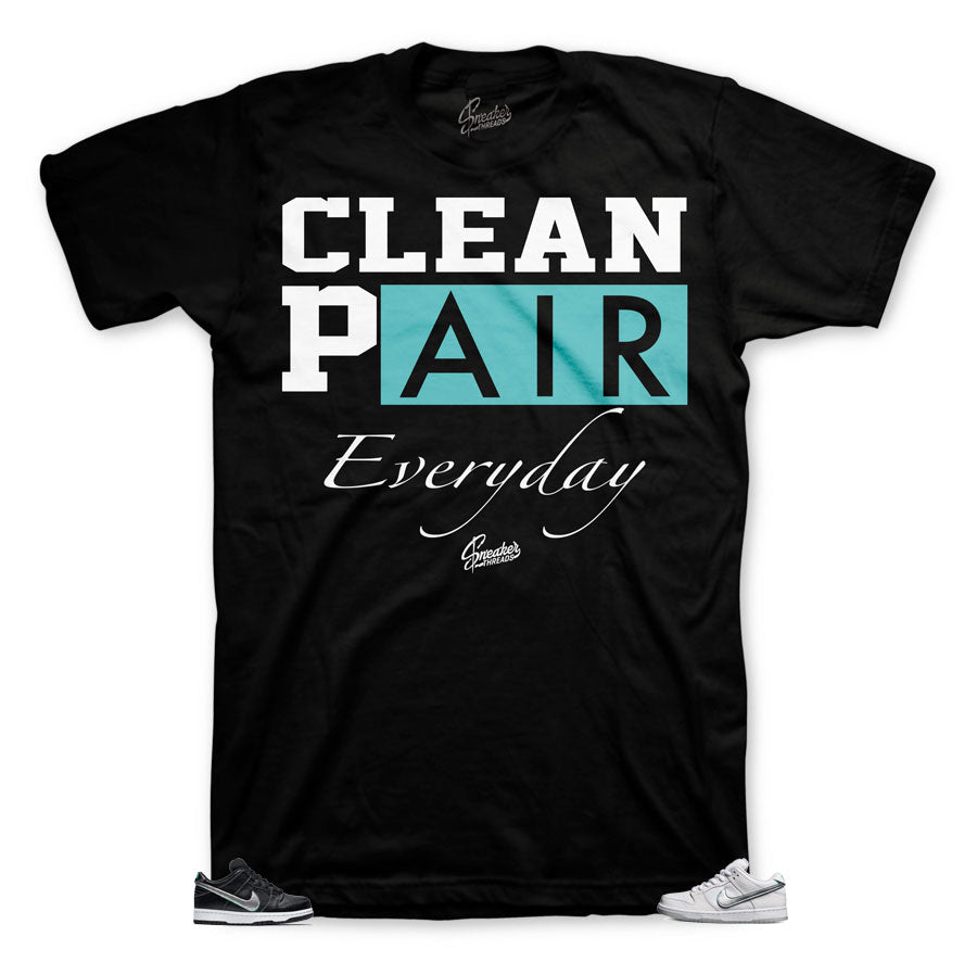 Clean shirt collection for Diamond Dunk SB