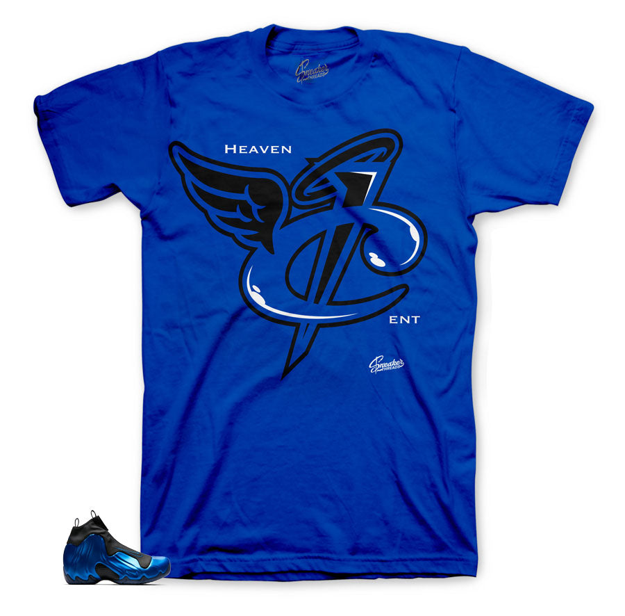 Flightposite royal matching sneaker tees and clothing | official matching tees.