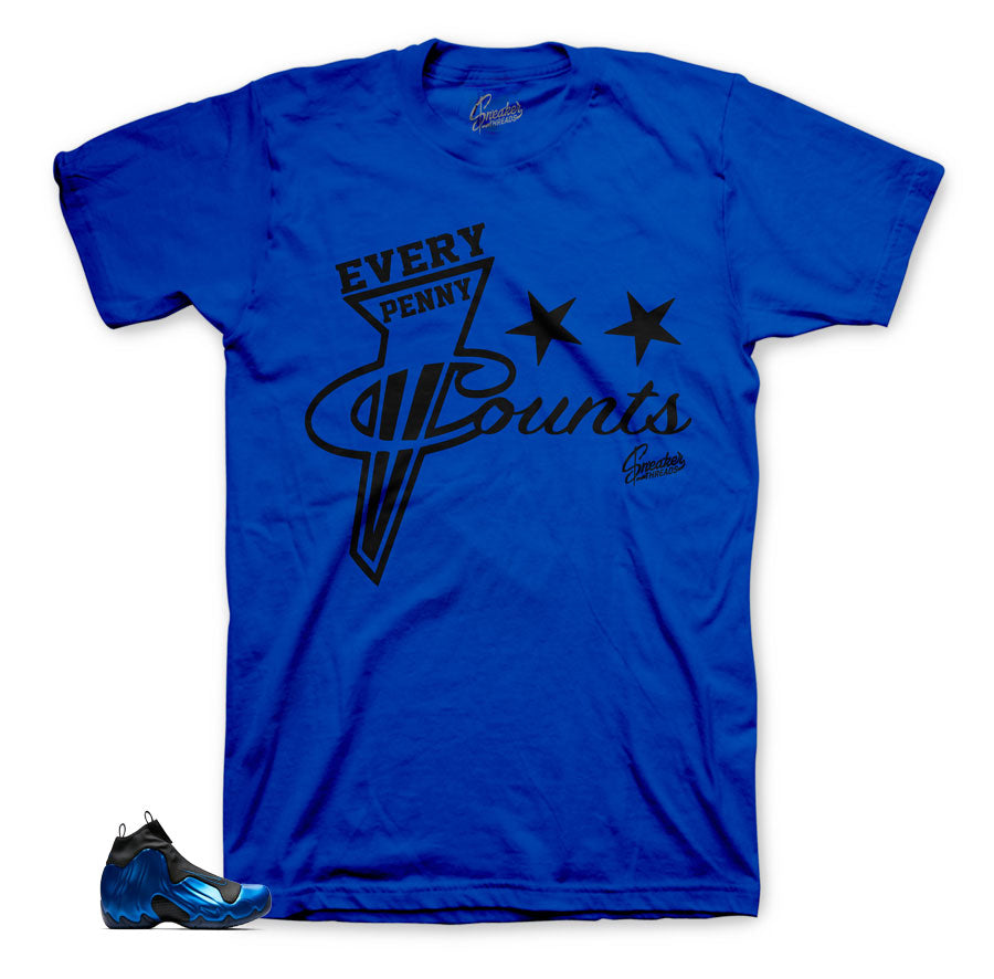 Flightposite dark neon royal sneaker tees | official matching tees.