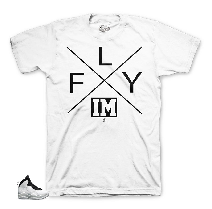 Jordan 10 I'm back shirts match | Official matching tees.