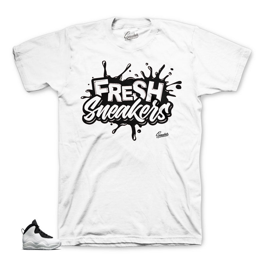 Jordan 10 I'm back shirts match shoes | Sneaker match tees.