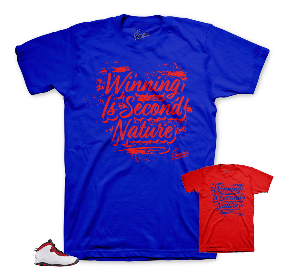 Second Nature Matching tee | Westbrook 10's