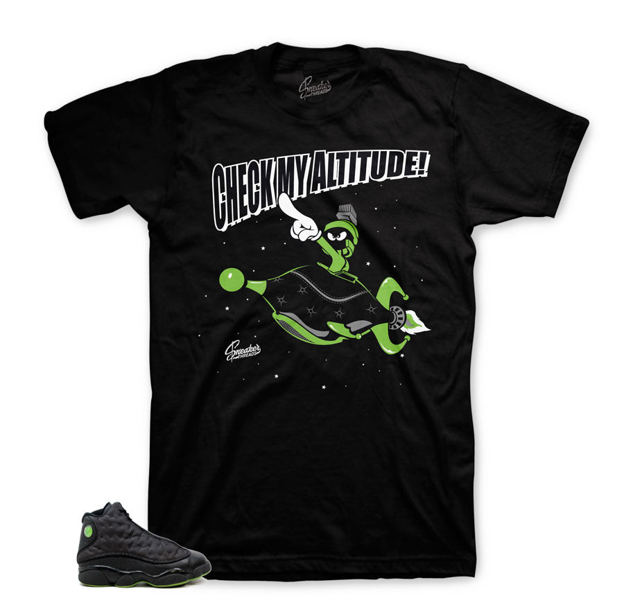on sale e169e 33ebf Home Jordan 13 Altitude Shirt - Check It - Black. Share