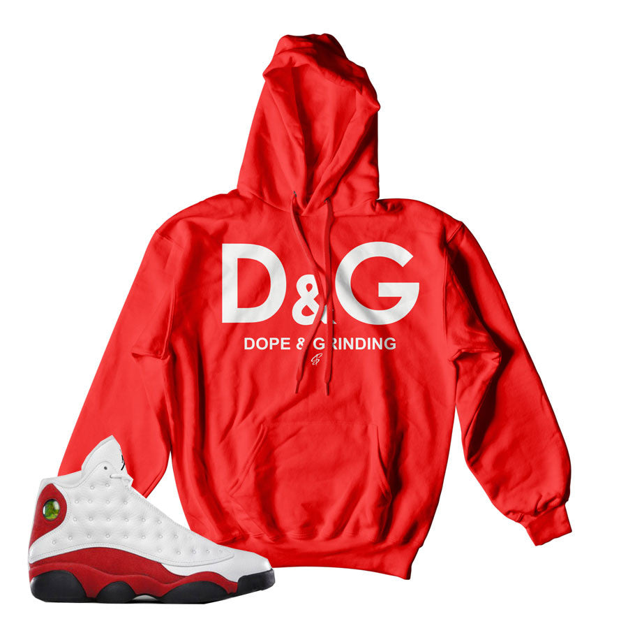 Jordan 13 OG Chicago hoody match retro 13 sweatshirts.