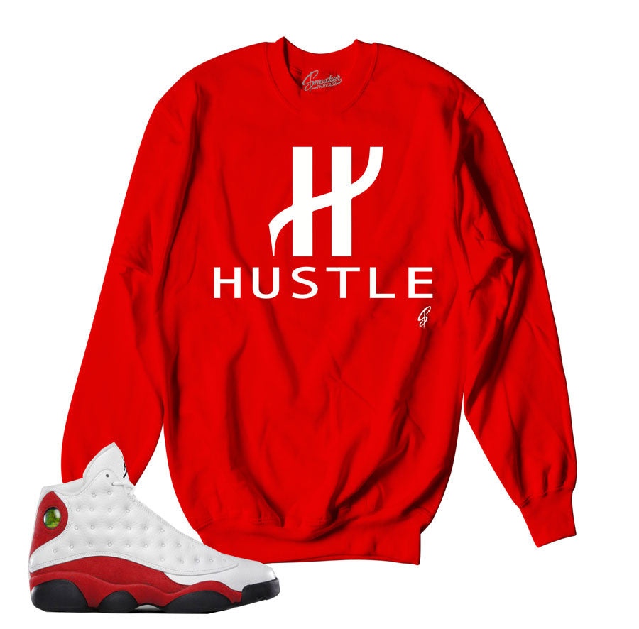 OG Jordan retro 13 sweatshirts match Chicago 13 shoes.