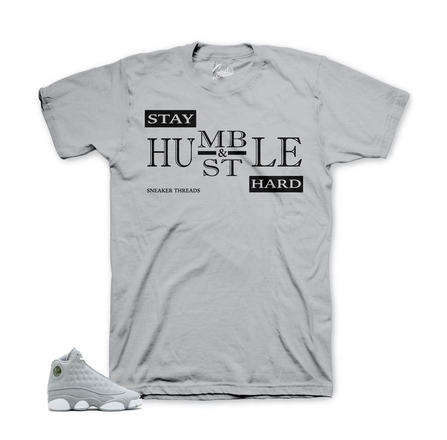 Jordan 13 wolf grey shirts match | Sneaker match clothing.