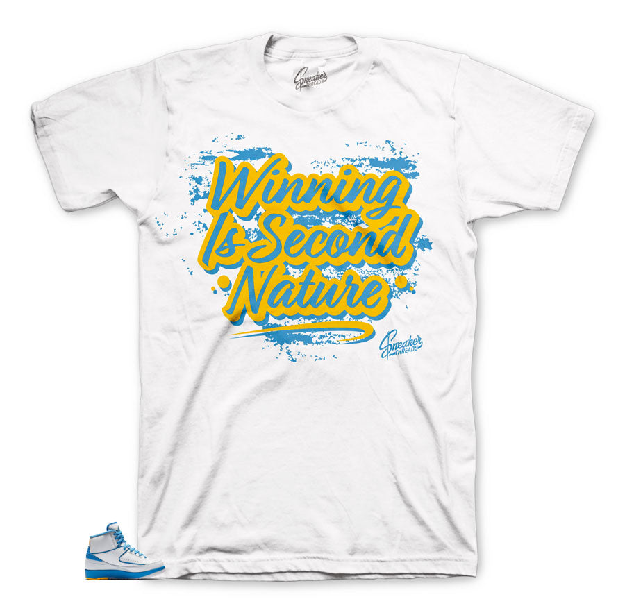 Jordan 2 Melo Second Nature Win shirt