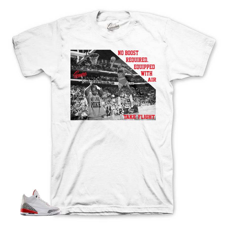 Katrina jordan 3 shirts match shoes | Retro 3 sneaker tees.
