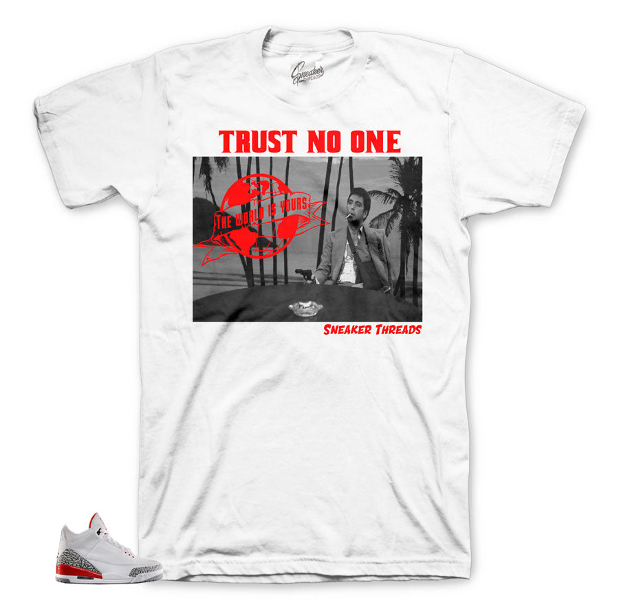 Katrina jordan 3 tees match | Retro 3 hall of fame shirts.
