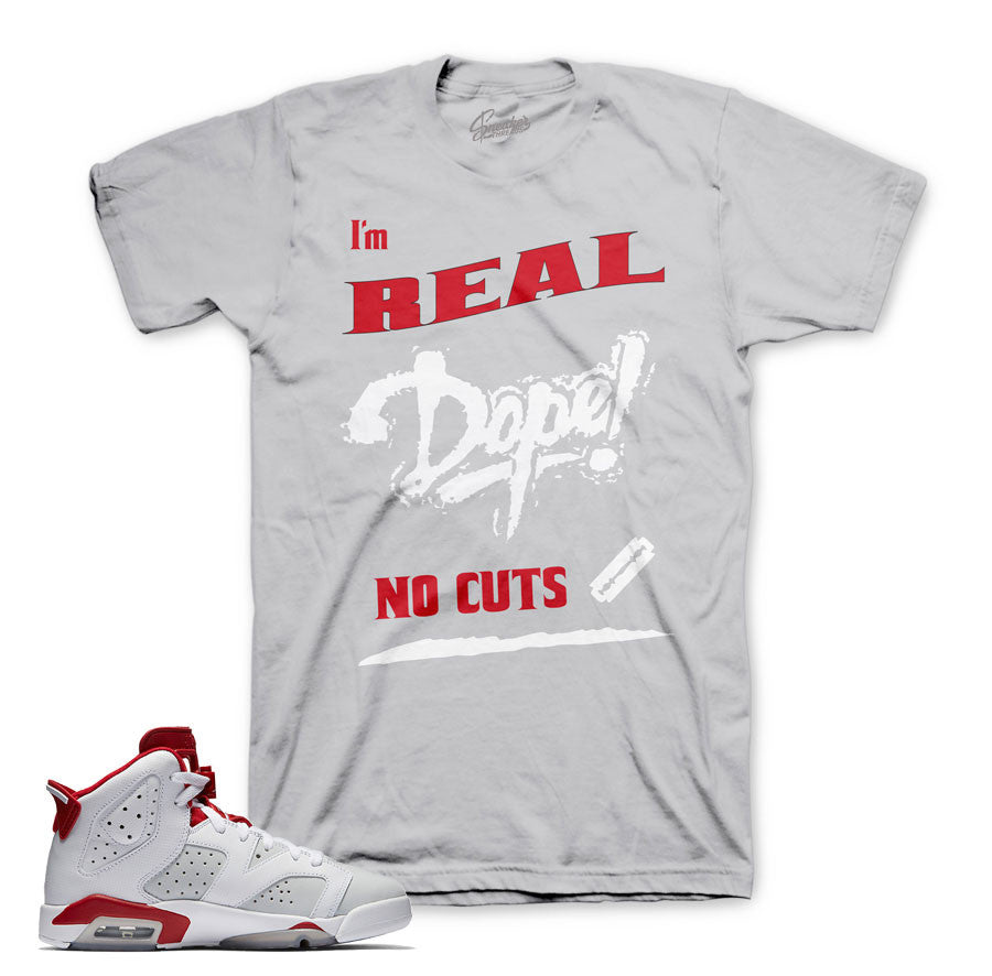 Jordan 6 alternate shirts match retro 6 sneakers clothing.
