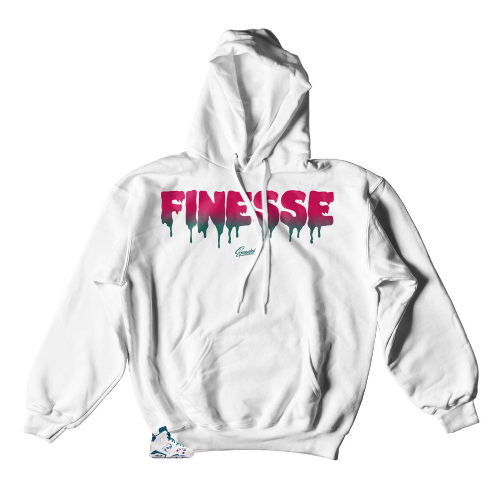 Finesse Hoodies to match Jordan 6 Abysss