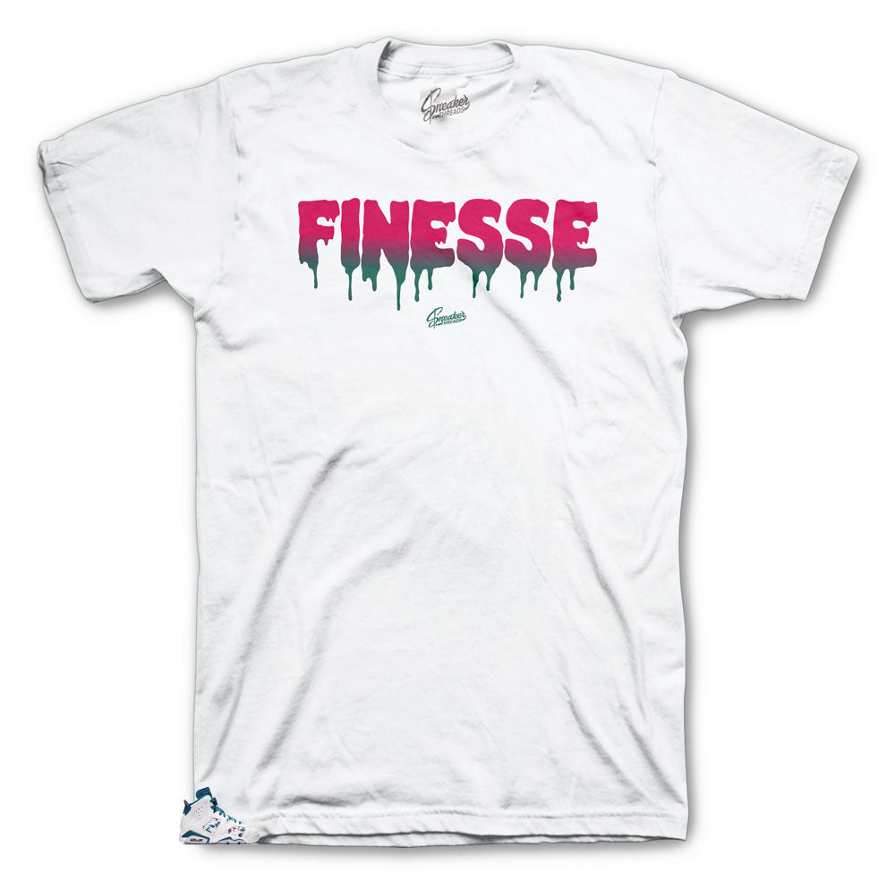 Jordan Finesse Shirts for Abyss 6's