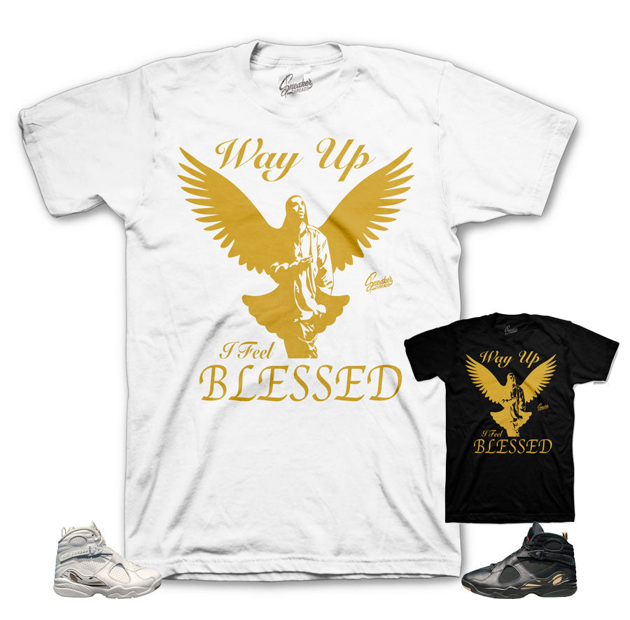 Jordan 8 OVO Shirts Match Retro 8 Octobers Very Own Tees.