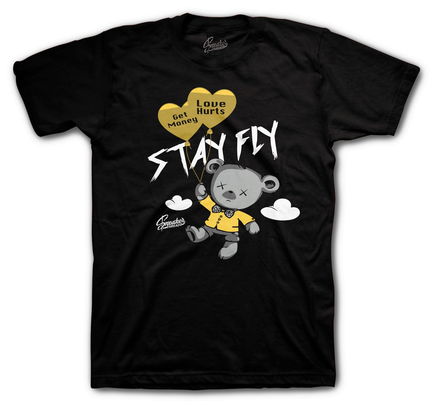 T shirts for guys matching with Jordan 1 black gold sneaker collection