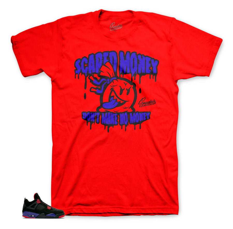 Raptor Jordan 4 sneaker matching shirts and tees for shoes.