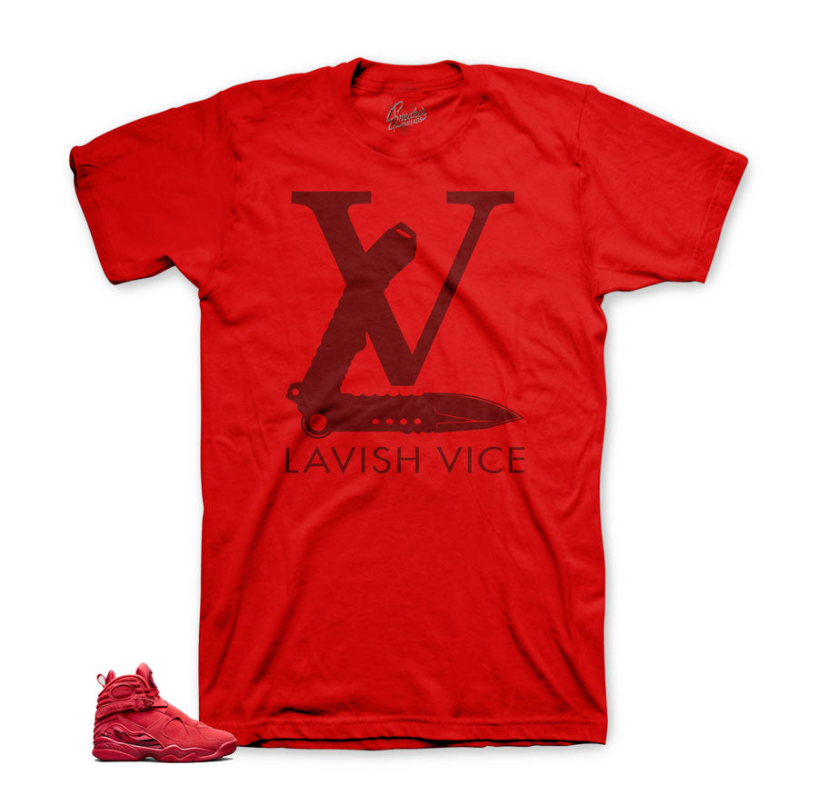 lowest price 43776 be571 Jordan 8 gym red sneaker tees - The best sneaker tees match shoes. Shirt