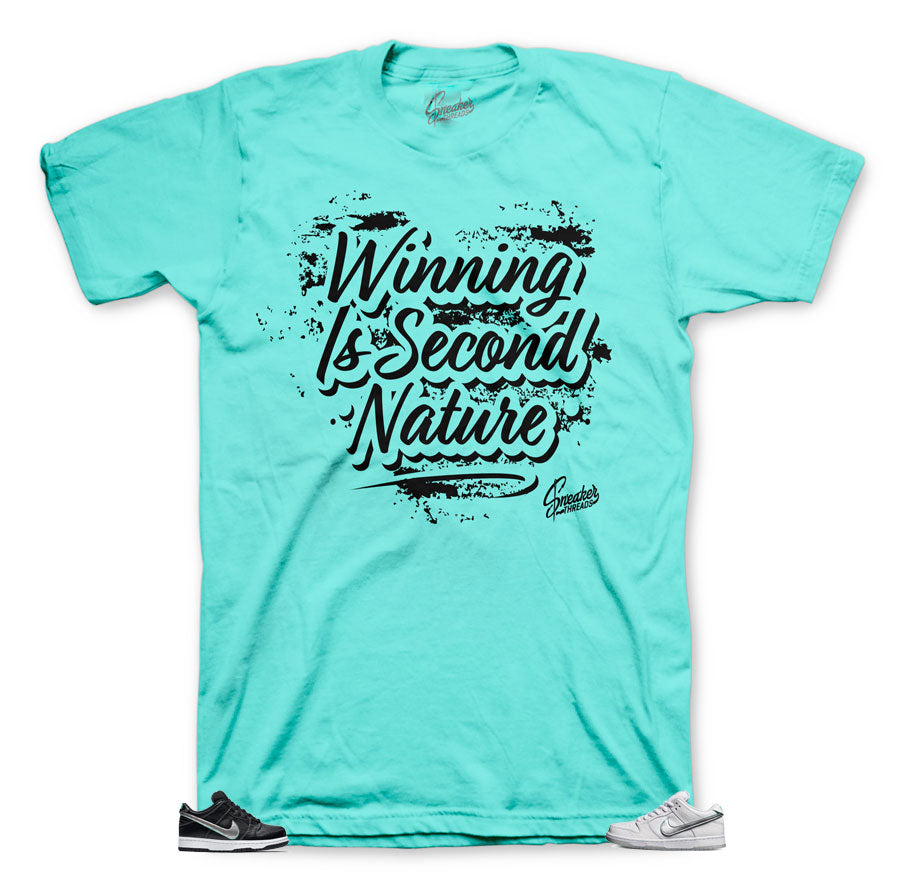 Nature designed tee for Diamond Dunk SB