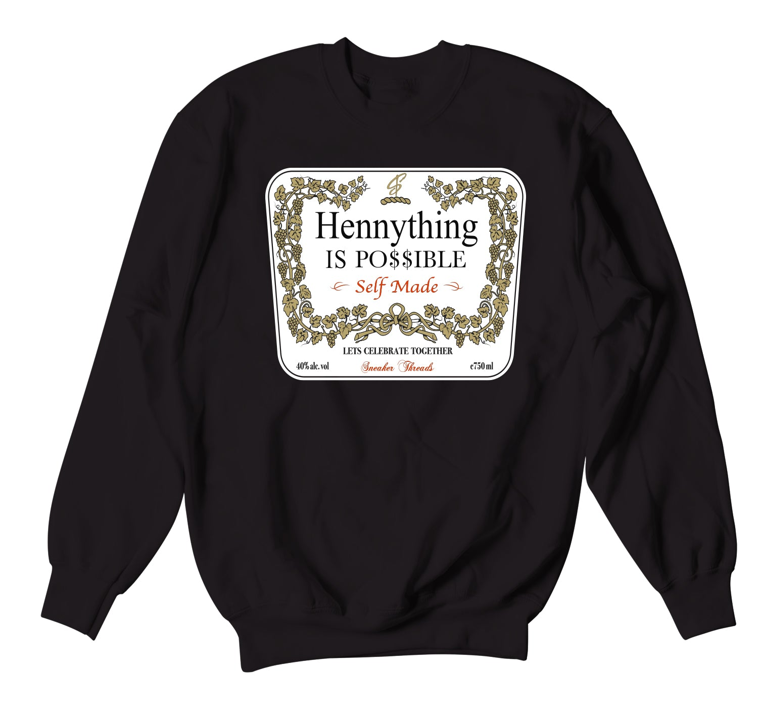 Air Max Duck Camo Sweater - Hennything - Black