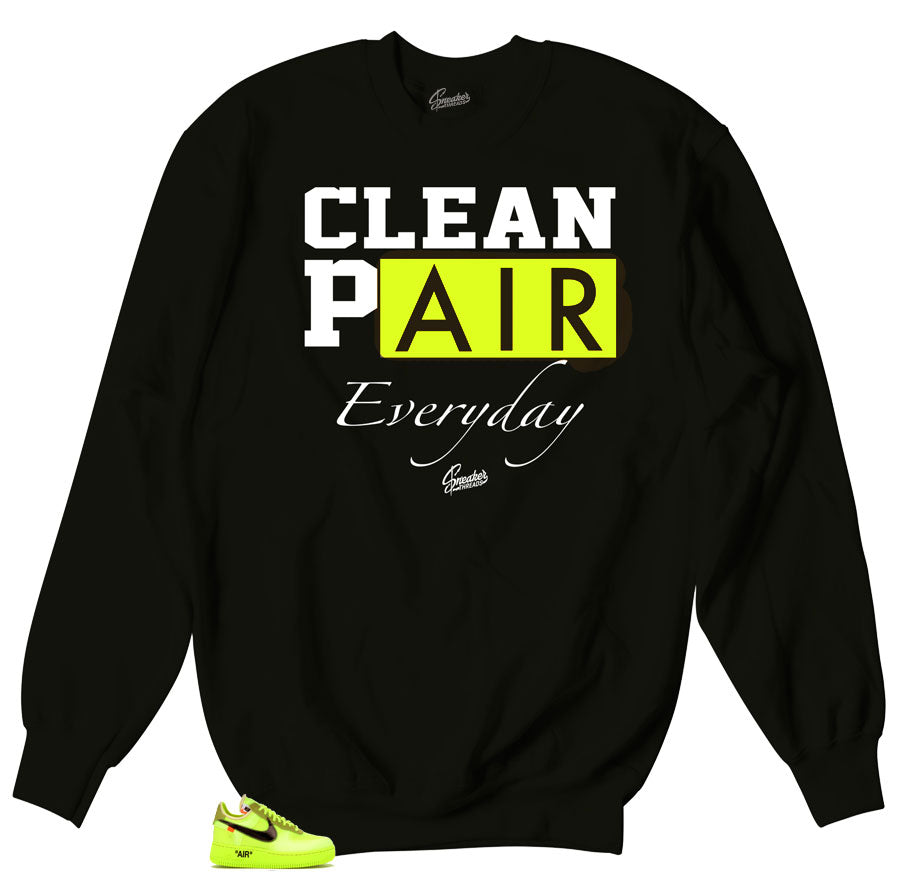 Air Force 1 Volt The Ten Sweater - Everyday - Black