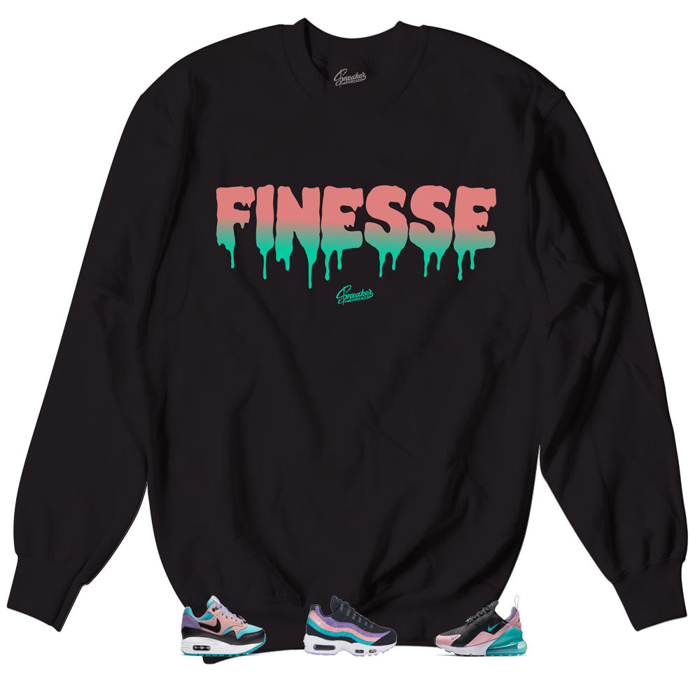 Sweaters to match the nike air max have