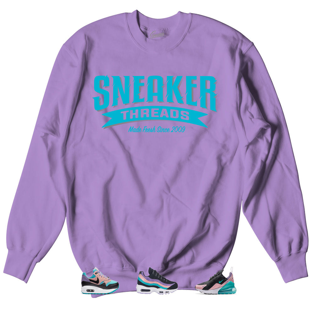 676edc6b Air Max Sneaker collection have a nice day matches crewneck sweaters ...