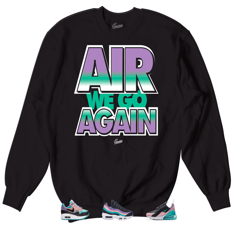 b4c798a97f Have a nice day sneaker nike air max matching crewneck made to match ...