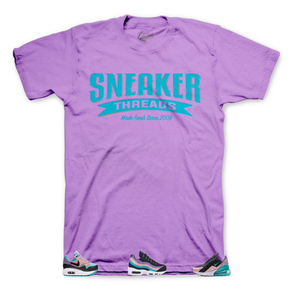 promo code e09c1 98a96 Custom shirts designed to match the air max sneaker collection have ...