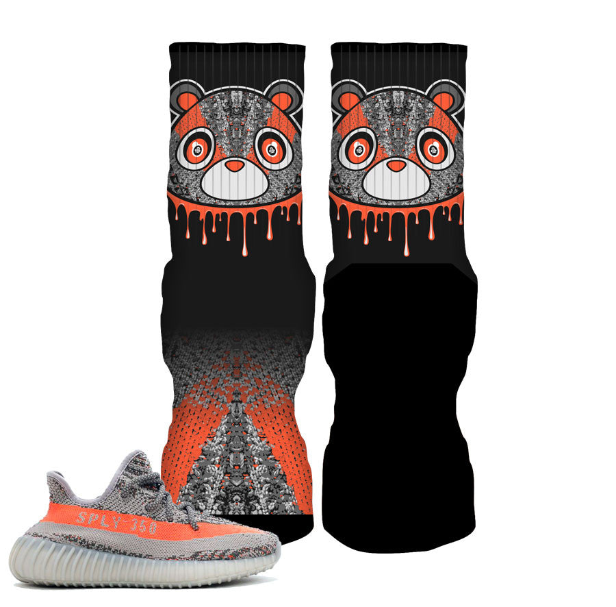 Yeezy beluga socks match yeezy beluga night elite socks