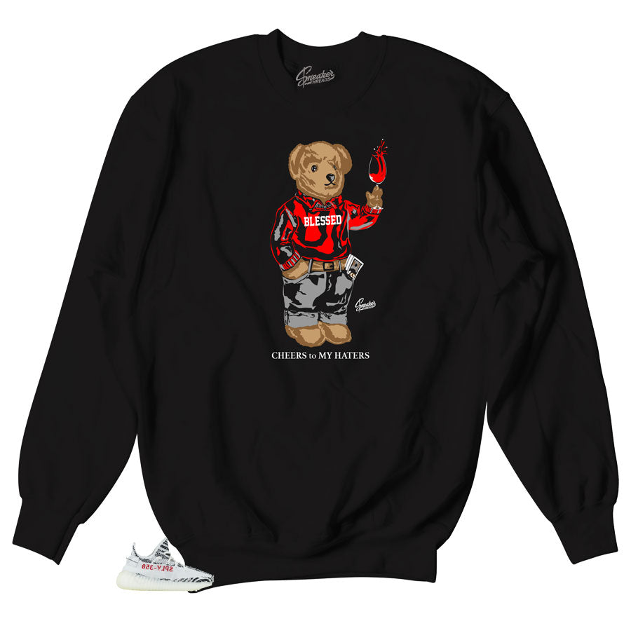 Holiday sweater for yeezy zebra