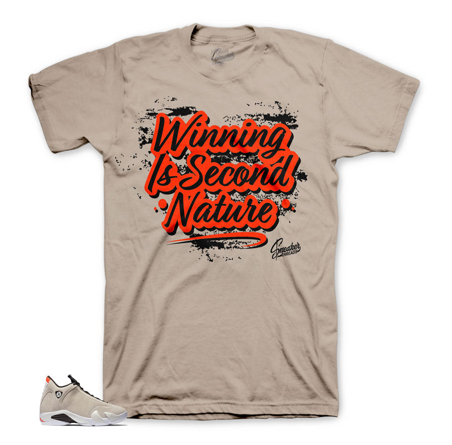 Jordan 14 Desert Sand Second Nature Famous Shirt