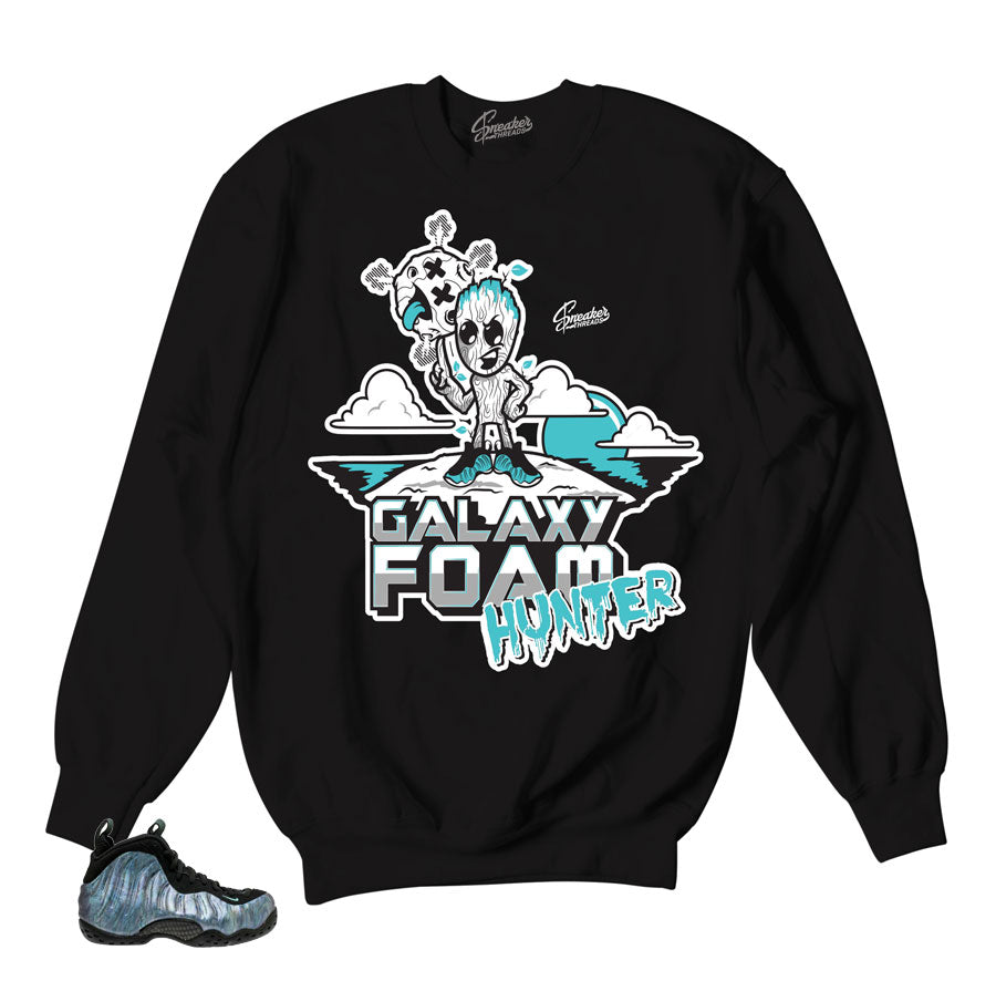 new concept 0d63d 6e1ad Foamposite abalone sweaters match foams   Official sweaters match