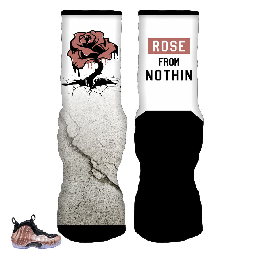 Foamposite Elemental Rose Socks - From Nothin