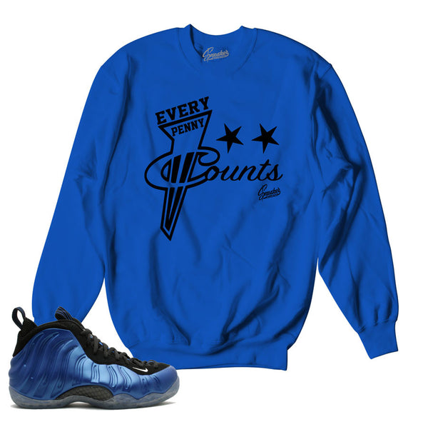 Foamposite Royal Sweater - Every Penny