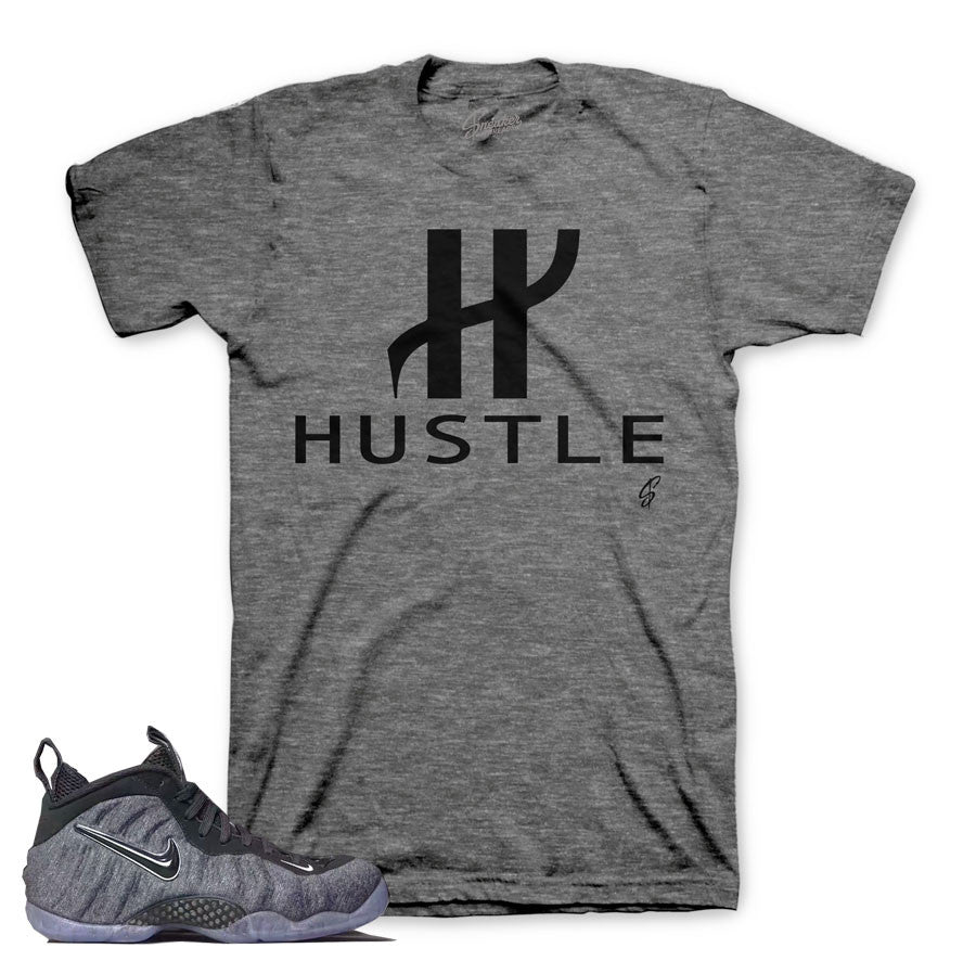 Wool tech fleece foamposite tee match foam sneaker shirts.