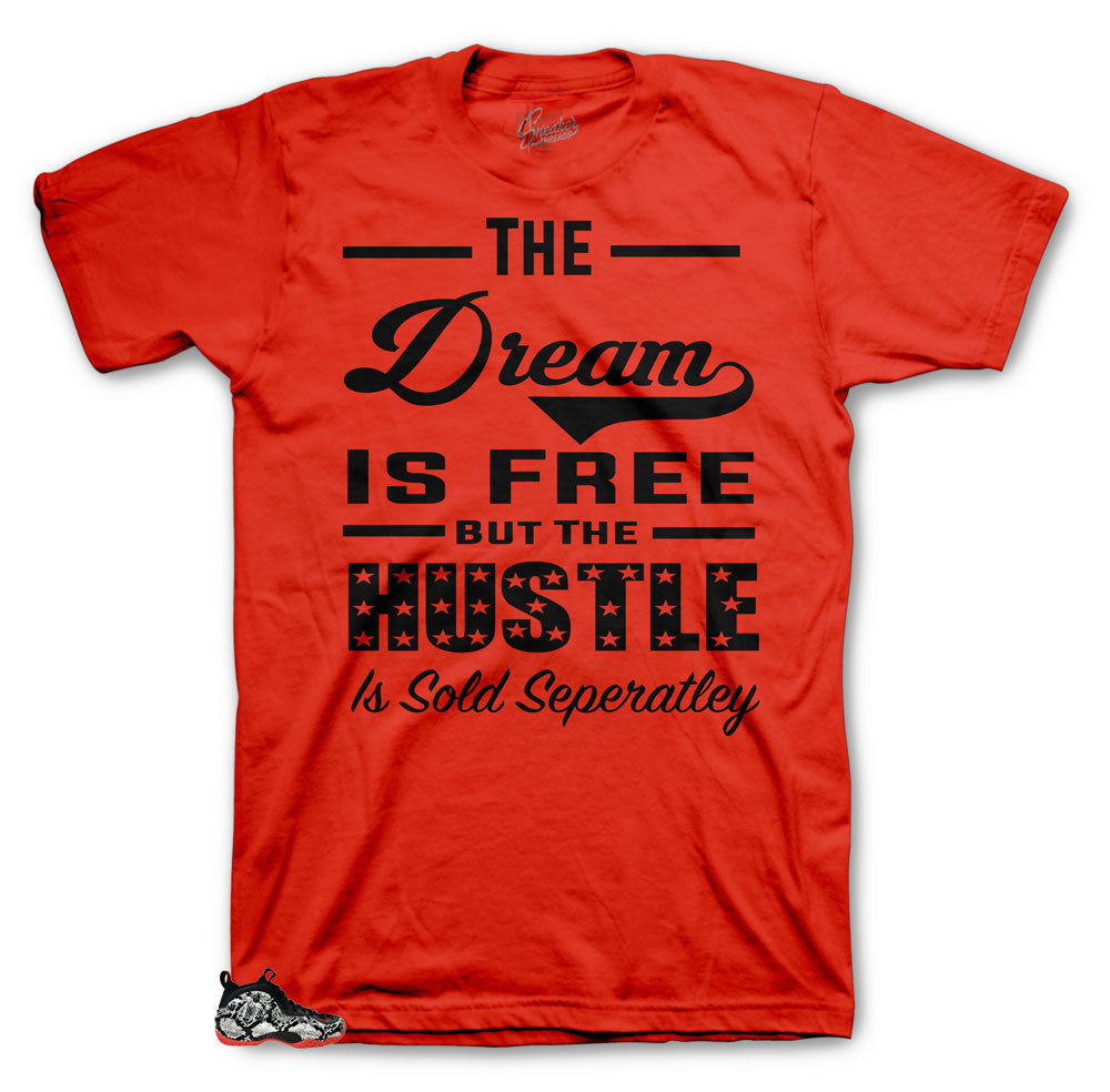 Dream is sold Separately shirt for Snakeskin Habanero Foamposite Collection