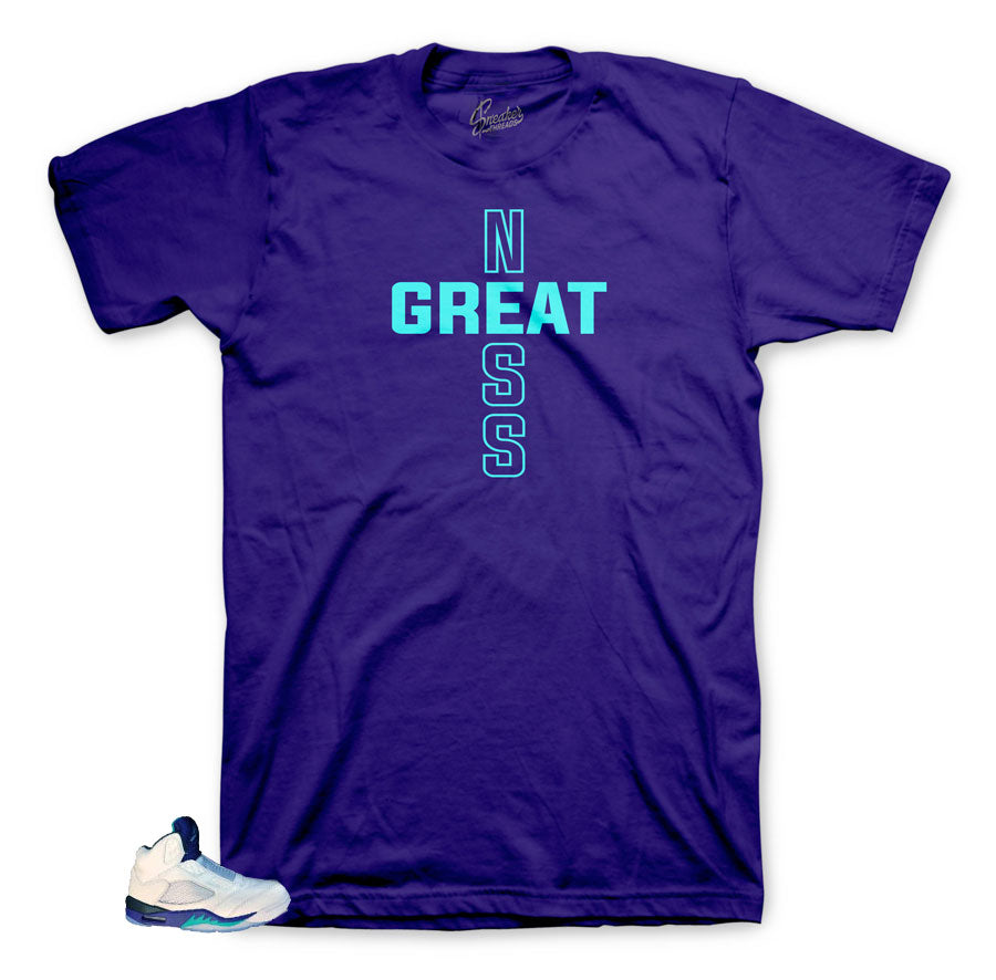 Great tee to match Grape Bel Air 5's
