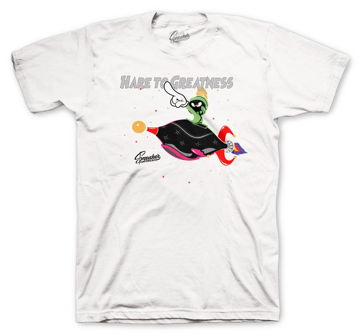 Jordan 6 Hare Shirt - Hare Greatness - White
